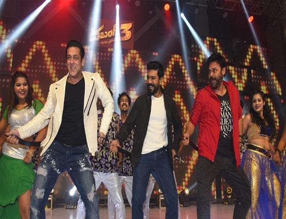 Pic Talk: Salman, Charan & Venkatesh Set The Stage On Fire