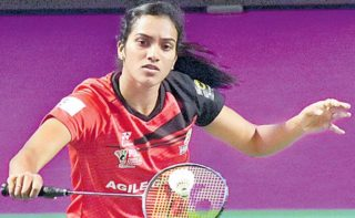 P V Sindhu gets Padma Bhushan