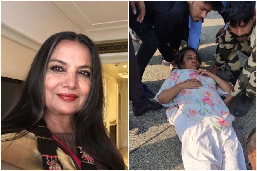 Veteran Actress Injured in Road Accident
