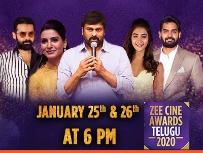 Zee Cine Telugu Awards 2020 – 26th Jan 2020