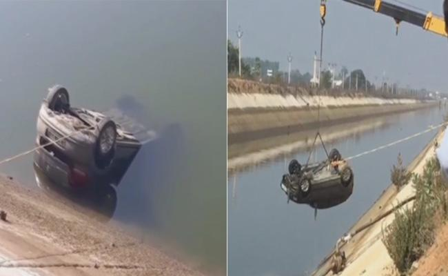 Bodies of 3 relatives of Telangana MLA found in canal