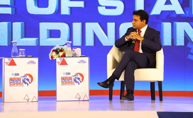 KTR proves a leader with maturity in Delhi!