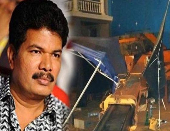 Emotional Shankar tweets on crane accident