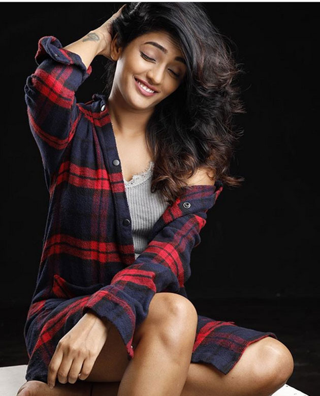 Photo Story: Eesha Teases In Unbuttoned Shirt