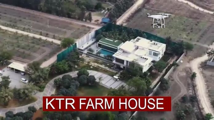 What is the 'Big Secret' with that Farmhouse, Why KTR is worried?
