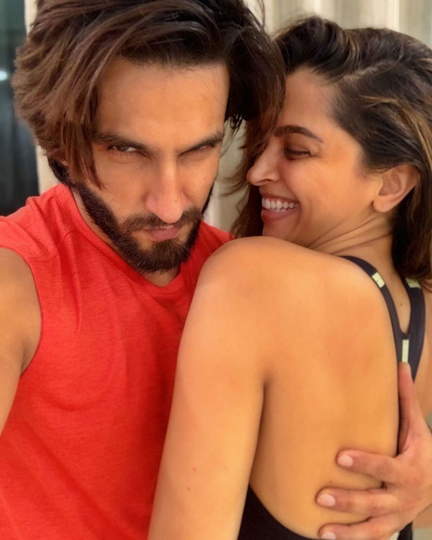 Bollywood Star Couple Gym Session At Home
