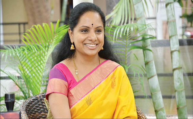Why did Kavitha choose to become MLC?