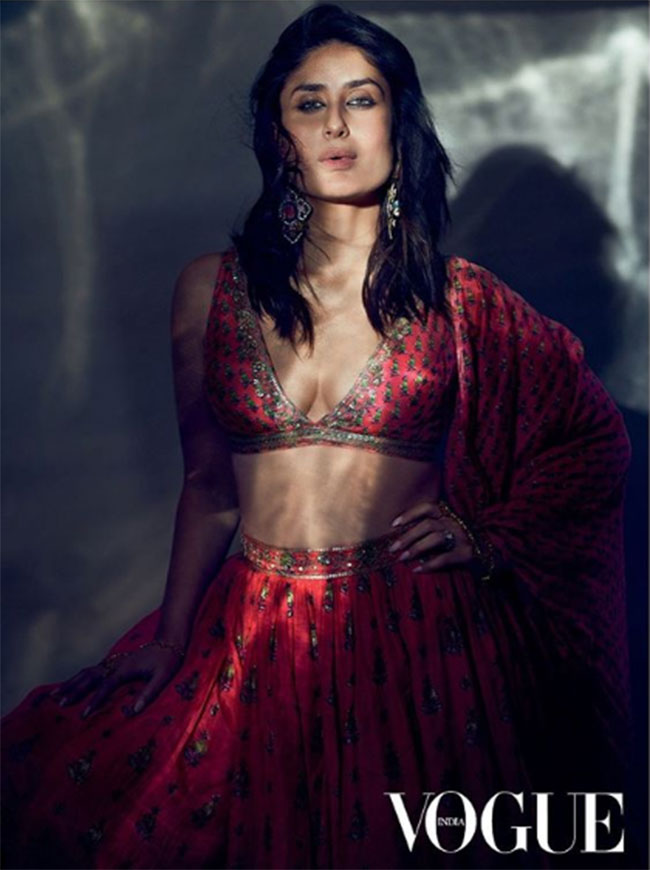 Photo Story: Kareena's Gorgeous And Glamorous Ethnic Cover Shoot!