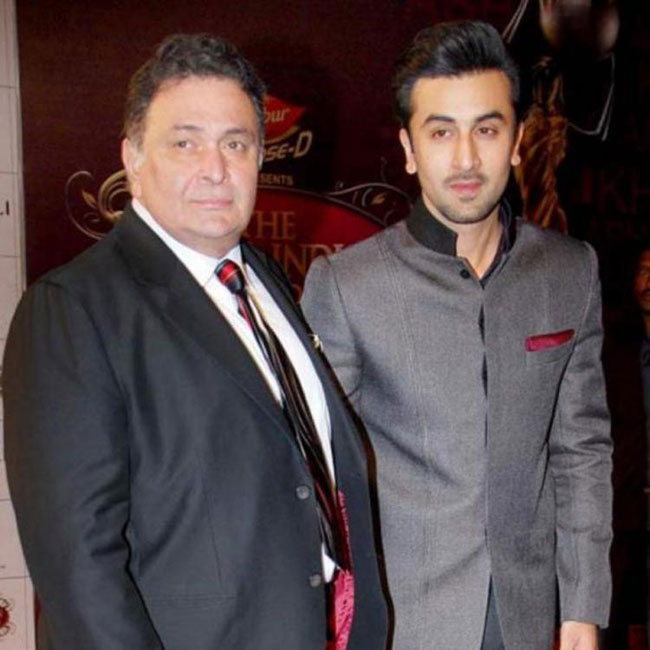 Rishi Kpoor Slaps Ranbir Kapoor