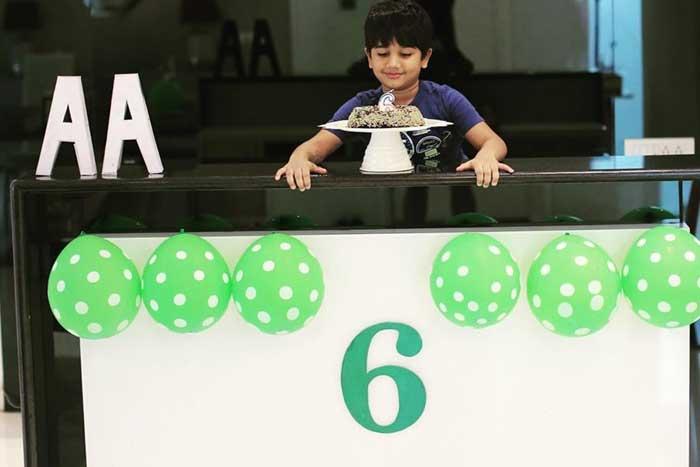 Allu Arjun Gets Emotional On Son's Birthday, Shares Pics
