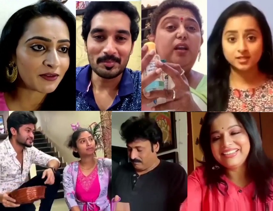 Telugu TV Actors Short Film On Stay Home #COVID19