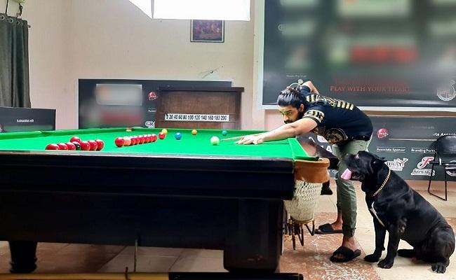Pic Talk: Naga Shaurya's New Addiction