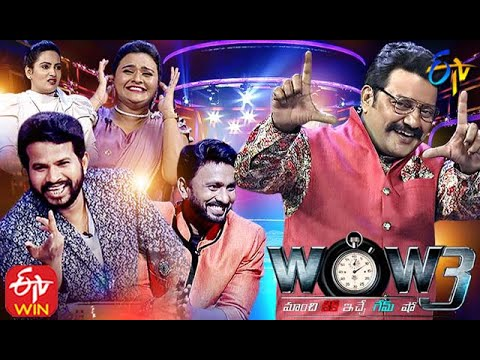 Saikumar's WOW3 – New Game Show 11th Aug with Hyper Aadi | Adhire Abhi | Himaja | Rohini