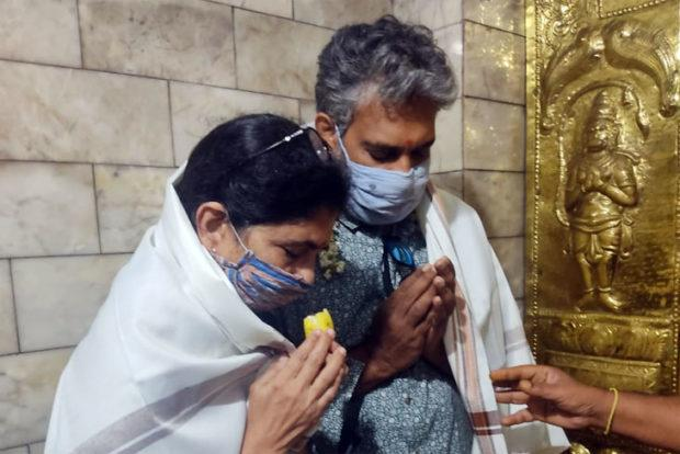 SS Rajamouli Offers Prayers At Karnataka Temple, Pictures Go Viral