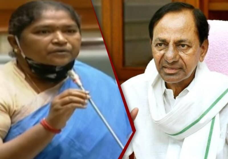 No Use Of 'Self Dabba': Seethakka Satire On TRS