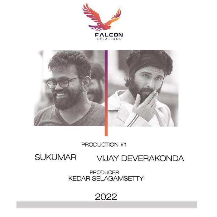 Big announcement: Vijay Deverakonda and Sukumar coming together