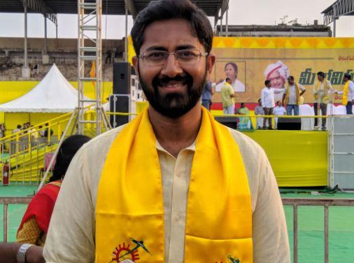 Why Is Sri Bharat Not Visible In TDP?