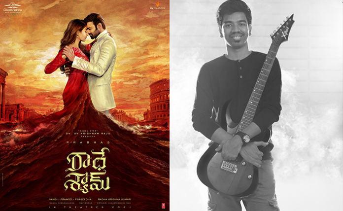 Music director locked for Prabhas's Radhe Shyam
