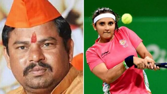 BJP's Raja Singh makes serious allegations on Sania Mirza