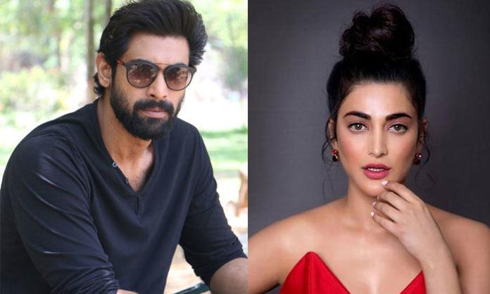 Rana, Shruti Hassan, and Nag Ashwin collaborating for a web series?