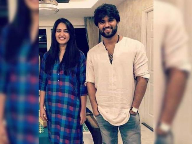 Anushka Shetty's New Project Is Opposite Vijay Deverakonda!