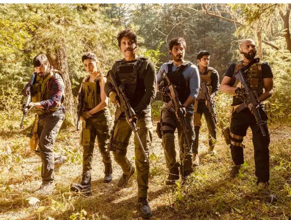 Akkineni Nagarjuna shares BTS pics from Wild Dog sets; See them