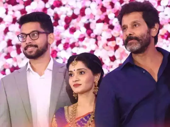 Chiyaan Vikram Becomes A Grand Father Now