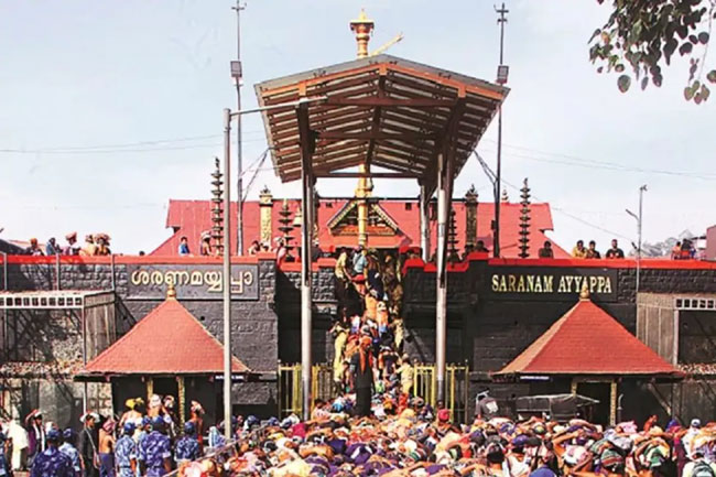 Covid-19 Terror In Sabarimala Shrine!