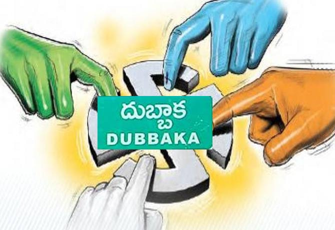 Dubbaka by-polls live: A neck to neck fight between BJP and TRS