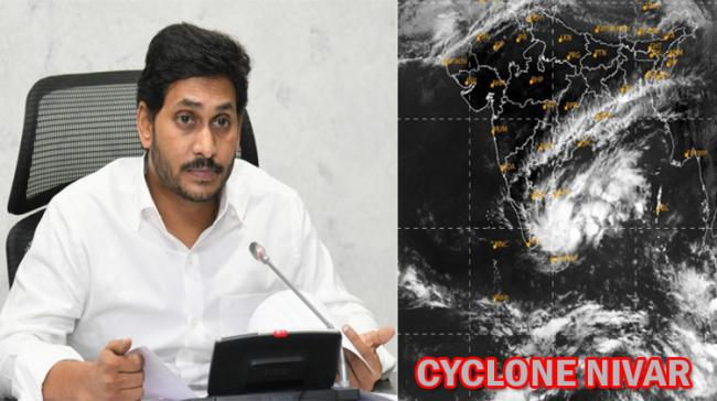 Cyclone Nivar: CM YS Jagan Instructs Chittoor, Nellore, Prakasam Collectors To Be On High Alert