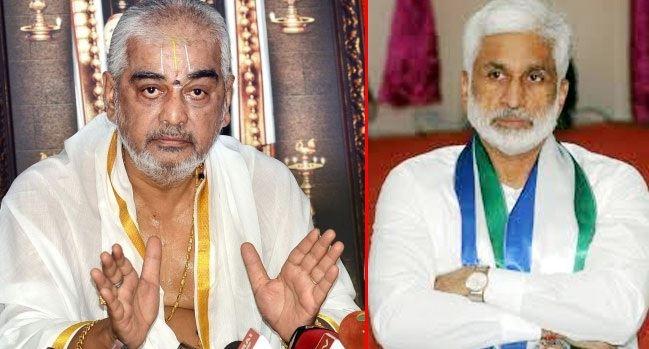 TTD finally gives a shock to Vijayasai and Ramana Deekshithulu