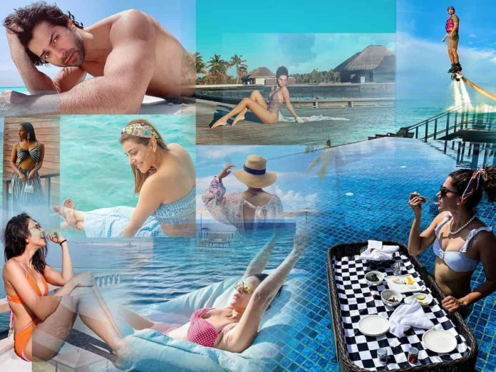 Why are all celebs flocking to Maldives in Particular?