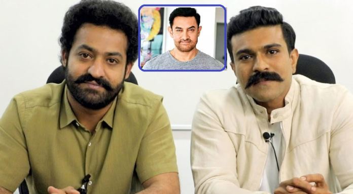 Aamir Khan to lend his voice for Jr NTR and Ram Charan