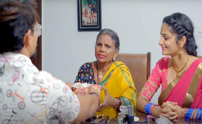 బిగ్బాస్: గంగవ్వకు కండల వీరుడు స్పెషల్ గిఫ్ట్