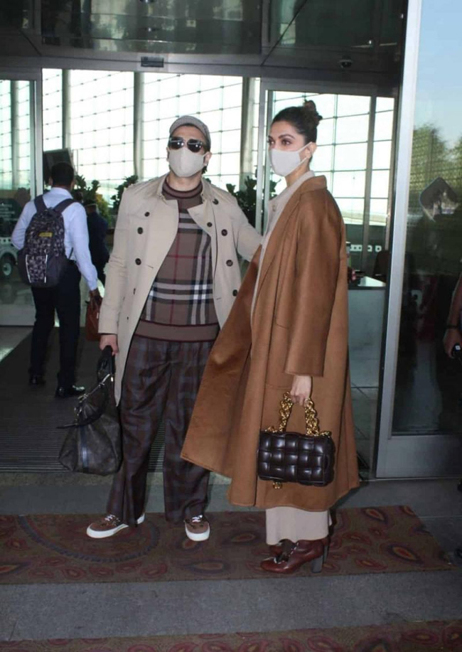 Ranveer And Deepika To Celebrate A Lovey-dovey New Year