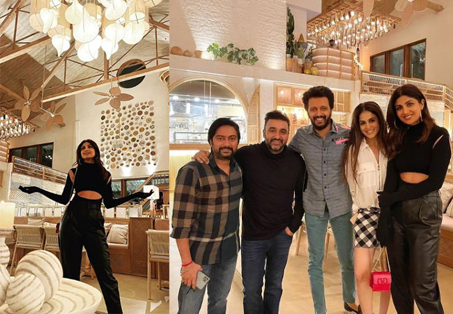 Shilpa Shetty's Lavish Restaurant In Mumbai