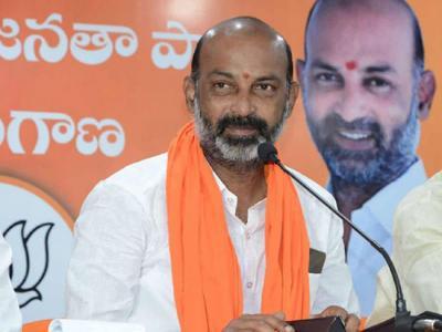 Saffron rift: Bandi blasts BJP leaders who called on KTR