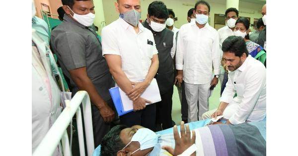 Andhra Mystery Disease: AP CM Calls On Patients, Probe On To Ascertain Cause