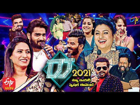 DJ 2021 New Year Special Event – Sudigaali, Sudheer, Rashmi ,Hyper Aadi,Anasuya – 31st Dec