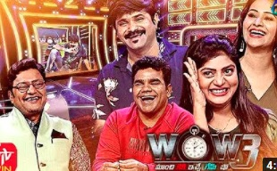 Saikumar's WOW3 – 1st Dec with Chanti,Venu,Manali,Soumya