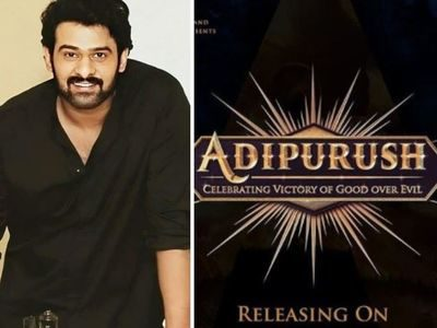 Prabhas's Adipurush set to be launched tomorrow
