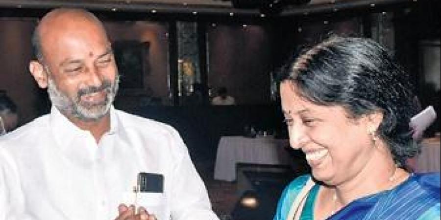 BJP Telangana president Bandi Sanjay Kumar terms Kaleshwaram 'a failed project'