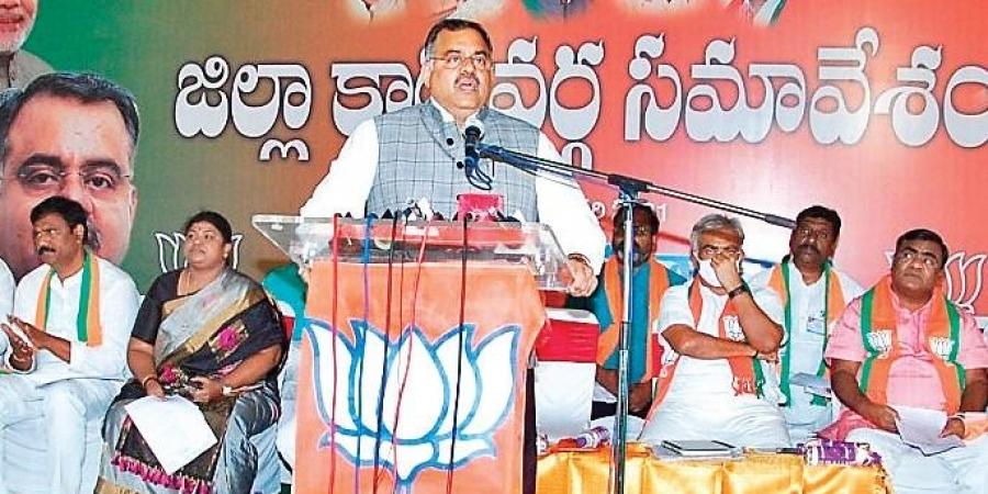 KCR corrupt, Modi immaculate: BJP
