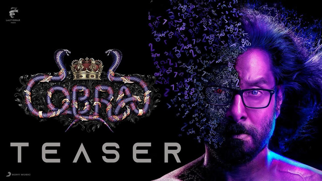 'Cobra' Teaser: Intriguing Story Of A Crime Solving Mathematician!