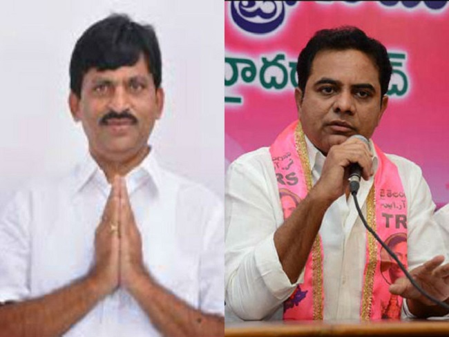 KTR invites Ponguleti to sort out differences