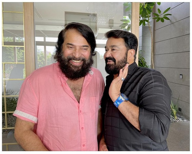 Friendship Goals: Mohanlal And Mammootty In One Frame