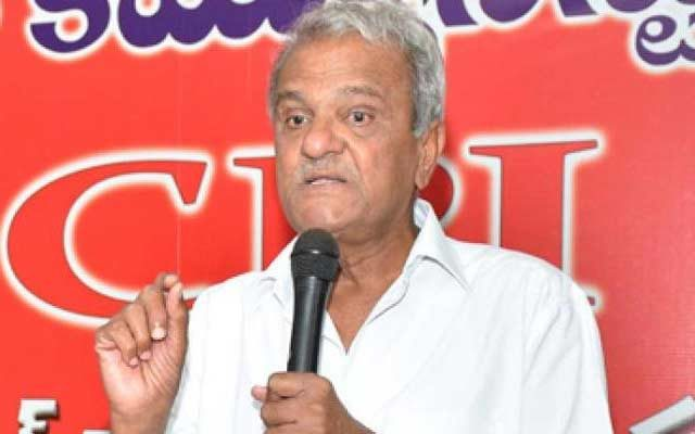 CPI Narayana made controversial comments on Ramathirtha incident.
