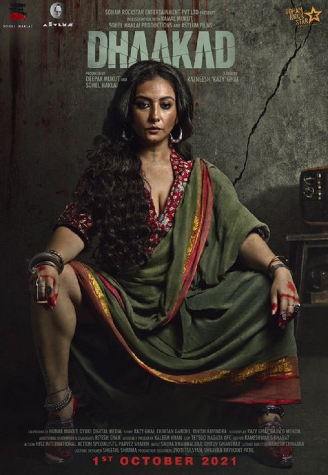 Poster Talk: Menacing & Devilish Divya Dutta In Kangana's 'Dhaakad'