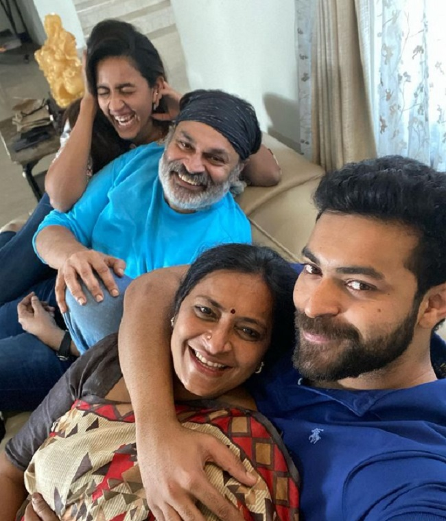 Varun Tej Posts An Adorable Pic Of His La Familia!