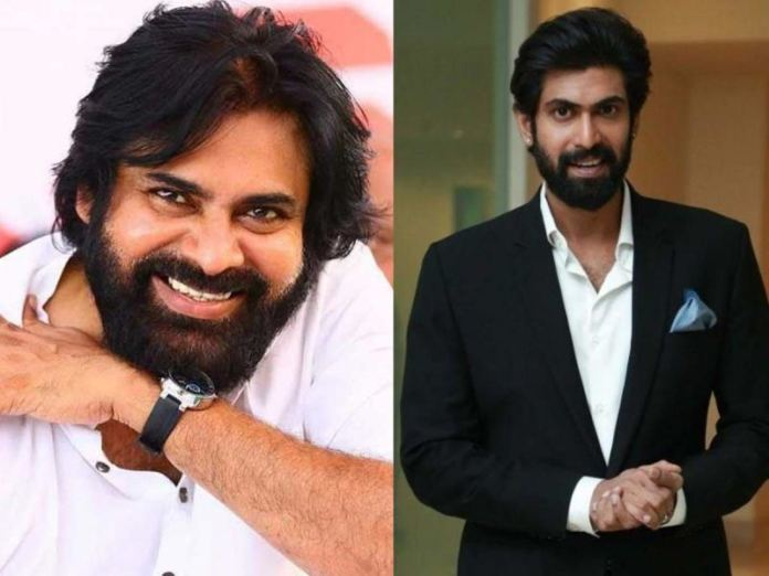 Powerful action scene featuring Pawan Kalyan and Rana being shot now